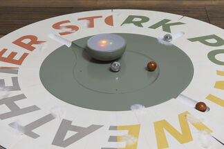 "Camille Blatrix: ""Standby Mice Station"", installation view"