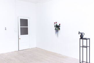 it started with a rose, installation view