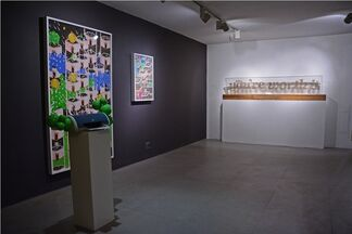 Pecked Jostled and Teased, installation view