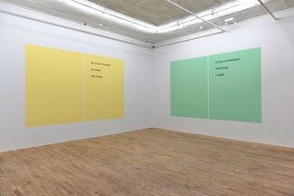 Rafael Rozendaal - Haiku, installation view