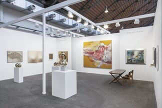 Robilant + Voena at Art Brussels 2017, installation view
