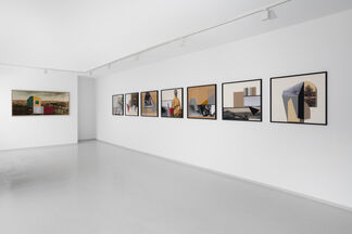 Hazem Harb | Power Does Not Defeat Memory, installation view
