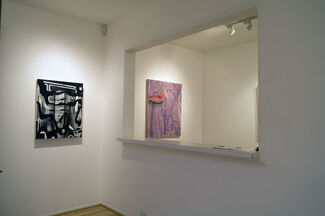 I Saw Red, installation view