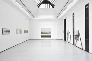 Japanese conceptual photography from the 1970's, installation view