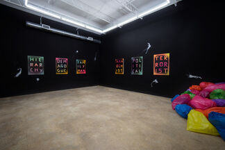 #tags, installation view