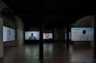 """Sophie Calle: """"Pour la dernière et la première fois"""" at Chapelle Saint-Martin-du-Méjan Arles, installation view"""