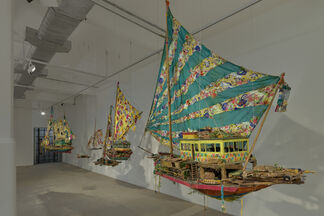 Hew Locke: Where Lies the Land?, installation view