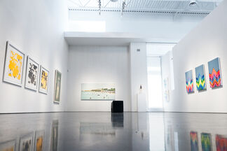 Sunscreen - Group Show, installation view