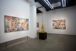 The Fantasy Factory: New Works by Ye Hongxing, installation view