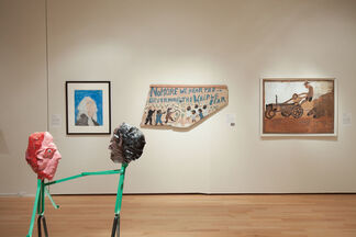 Unfiltered Visions: 20th Century Self-Taught American Art, installation view