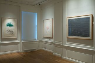 Cy Twombly: Works from the Sonnabend Collection, installation view