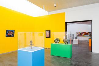 Robert Jacobsen - Iron Man, installation view