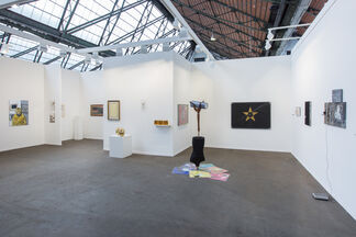 Repetto Gallery at Art Brussels 2017, installation view