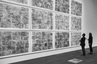 Galeria Plan B at Art Basel 2016, installation view