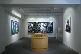 """WANNABIE'S"" by MADSAKI, installation view"