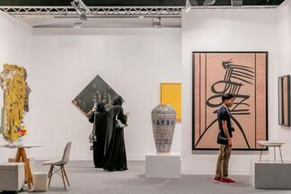 October Gallery at Abu Dhabi Art 2017, installation view
