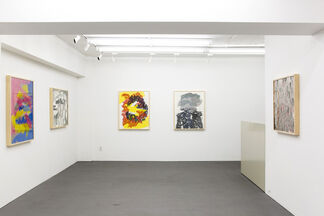 """""""afterimage"""" by Mikito Ozeki, installation view"""