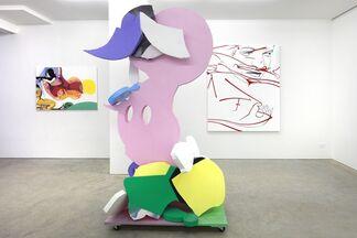 "David Humphrey, ""Work and Play"", installation view"