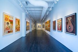 "Shepard Fairey: Printed Matters ""Creation & Destruction"", installation view"