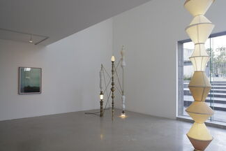 All the water under the bridge, the moon, and the stars, installation view