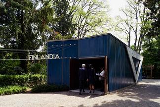 Finnish Pavilion, installation view