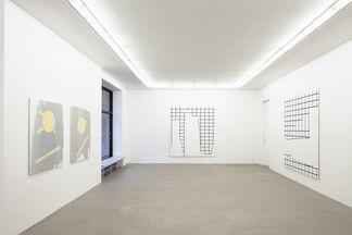 Päivi Takala: Paper on Painting, installation view