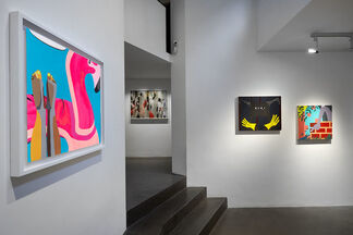 Postcard From New York - Part II, installation view