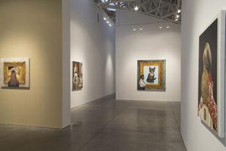 An Artist, A Curator And A Rabbi Walk Into A Bar..., installation view