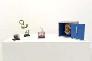 Galerie Christophe Gaillard at Artissima 2014, installation view