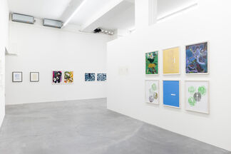 February 2015 Works on Paper, installation view