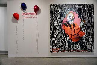 POP-PORN, installation view
