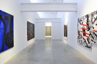 Ed Moses: Diamond Jim, installation view