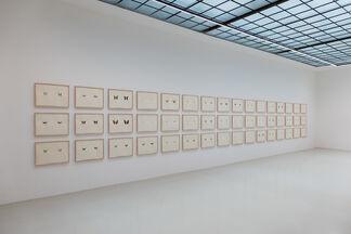 "Maximilian Prüfer ""Brut"", installation view"