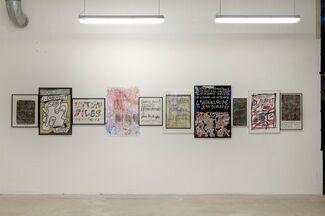 Anticipation 2: Pierre Leguillon, Dubuffet Typographe, installation view