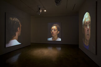 Donald Moffett: head., installation view