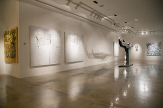ATHAR / A Solo Show by Ali Hassan, installation view