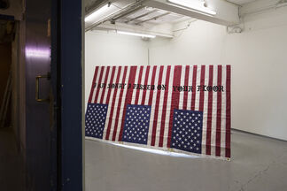 Busted On The Hot Spots, installation view