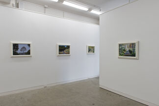 Dick Frizzell: Up the Road, installation view