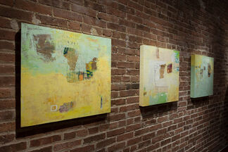 Mapping A Place: Paintings by Lisa Pressman and Joe Piccillo, installation view