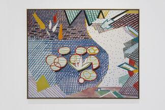 John Evans, installation view