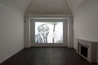"""WILLIAM KENTRIDGE """"Sketches for a Neapolitan mosaic"""", installation view"""