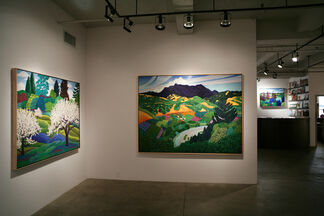 Jack Stuppin: Songs of the Earth, installation view
