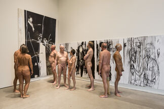 Claus Carstensen: WHAT'S LEFT (IS REPUBLICAN PAINT) – NINE SISTERS, installation view