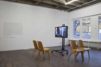 CYCLE 1: GERARD BYRNE: Around that time, installation view