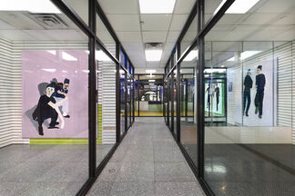 Florian Krewer: pinkflavor, installation view