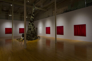 Rachel Howard: Paintings of Violence (Why I am not a mere Christian), installation view