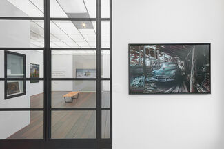 """Andrew Moore - New Works from Dirt Meridian and Cuba - release of new book """" Dirt Meridian"""", installation view"""