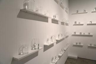 """AKAMATSU Nelo """"Chozumaki / Chijikinkutsu"""", installation view"""