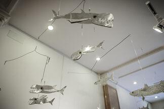 Full Immersion: Andrea Puccetti and Gloria Satta, installation view