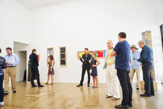 """Nicholas Hunt featuring """"Caliber Abstraction"""", installation view"""